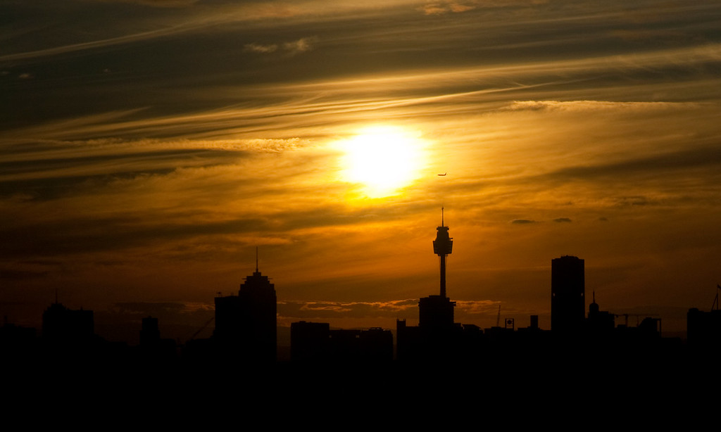 View from our Bondi Junction apartment