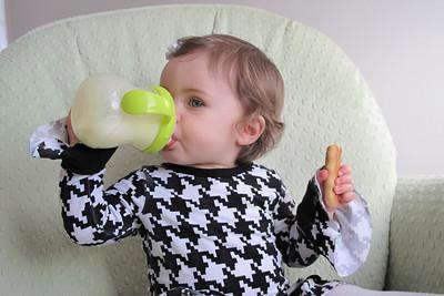 and milk