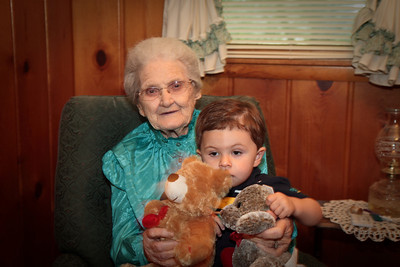 Granny Hulvey with Jack
