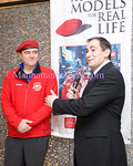NEW YORK-NOVEMBER 17: Curtis Sliwa, Arthur Backal attend  The Guardian Angels Season of Appreciation Cocktail Party Hosted by Curtis & Mary Sliwa on Tuesday, November 17, 2010 at at APELLA Event Space at the Alexandria Center, 450 East 29th Street, 2nd Floor, New York City, NY (PHOTO CREDIT: ©Manhattan Society.com 2010 by Christopher London)