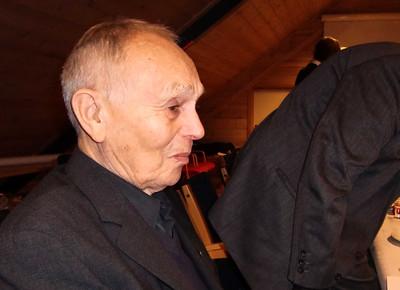 Æresmedlem i Stavanger Roklub: 85 år gamle Harald Tvedt Pedersen
