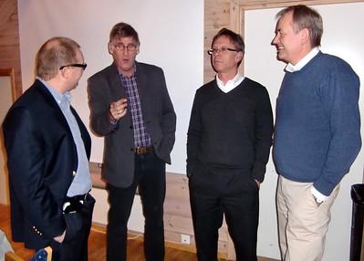 Svenn Erik, Rune, Arne og Einar