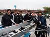 Boys four: Isaac, Mat, Chris, Coach Mat, Turney, Don (cox)