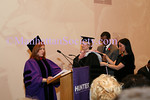 NEW YORK-FEBRUARY 23: Hunter College President Jennifer J. Raab confers honorary doctorats of human letters on Elizabeth Rohaytn at ceremony and reception at HUNTER COLLEGE Honoring New York City leaders FELIX and ELIZABETH ROHATYN with honory doctorates of human letters on Tuesday, February 23, 2010 at ROOSEVELT HOUSE Public Policy Institute at HUNTER COLLEGE, 47-49 East 65th Street, between Park and Madison Avenues in New York City, NY. (PHOTO CREDIT:  ©Manhattan Society.com 2010 by Karen Zieff)