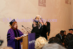 NEW YORK-FEBRUARY 23: Guests attend ceremony and reception at HUNTER COLLEGE Honoring New York City leaders FELIX and ELIZABETH ROHATYN with honory doctorates of human letters on Tuesday, February 23, 2010 at ROOSEVELT HOUSE Public Policy Institute at HUNTER COLLEGE, 47-49 East 65th Street, between Park and Madison Avenues in New York City, NY. (PHOTO CREDIT:  ©Manhattan Society.com 2010 by Karen Zieff)