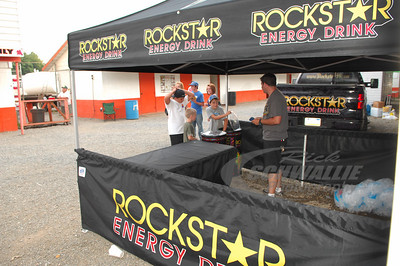 Rockstar Energy display area @ Hagerstown Speedway