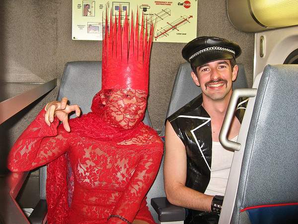 Lady Gaga found some of her kind on the train