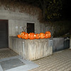 our many jack-o-lanterns, 3 of which were carved by the neighbors, Magda, Horst and Alexander