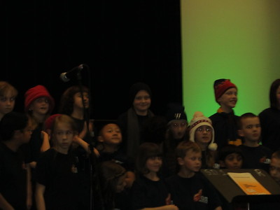 Noah is in the middle in the dark hat
