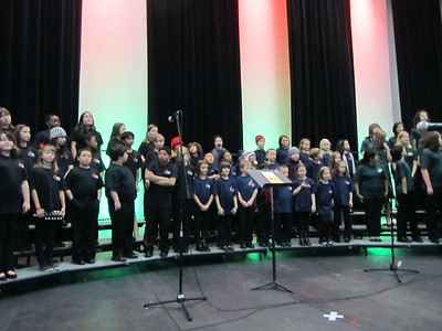 First concert at the Festival of Trees.