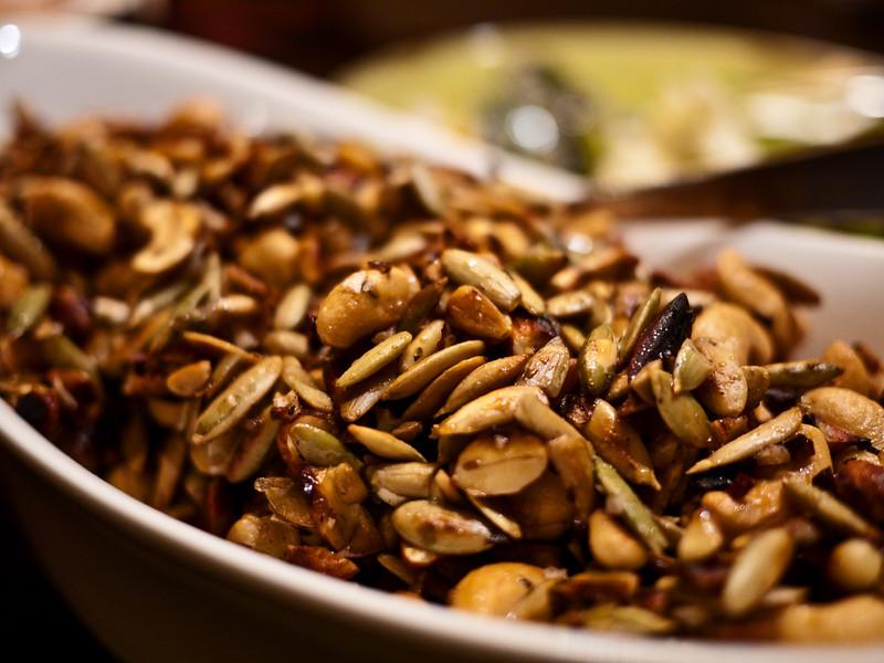 babette thanksgiving nut salad