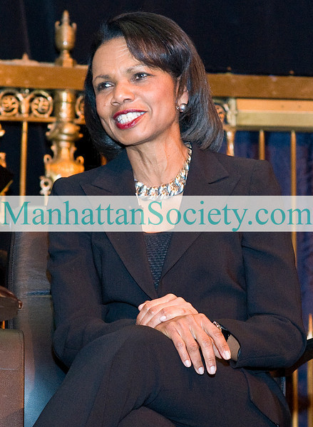 NEW YORK-MARCH 9: Honoree Dr. Condolezza Rice atttends Inwood House 180th Birthday Gala on Tuesday, March 9, 2010 at Gotham Hall, 1356 broadway 36th street, New York, NY  (PHOTO CREDIT:  ©Manhattan Society.com 2010 by Christopher London)