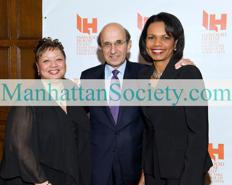 Inwood House Executive Director Linda Lausell Bryant M.S.W. , NYC Schools Chancellor Joel Klein,  Former Secretary of State Dr. Condoleezza Rice P.H.D.