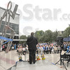 Tribune-Star file photo/Jim Avelis<br /> We welcome you: Dignitaries and school employees braved hot, humid conditions to attend the opening of Indiana State Universities new Student Recreation Center July 10, 2009.
