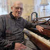 Piano man: Eighty-two-year-old Don Lazzell will be inducted into the 2010 class of the Musicians Hall of Fame.