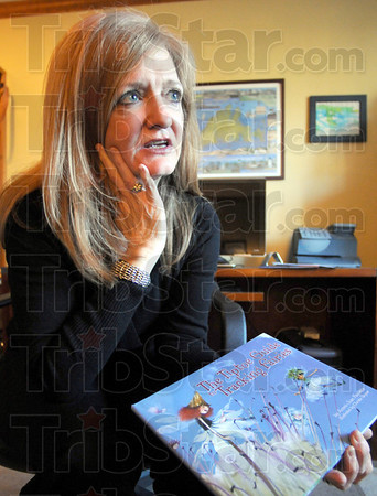 Publisher: Peggy Tierney talks about her publishing of children's books from her Terre Haute home Sunday afternoon.