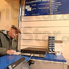 Cancelled: Indiana State University avaition instructor Vern Bothwell uses the sales window at the contract postal facility  at 7th and Cherry Streets. He said he uses the service about twice a week and once the retail sales window closes in July, he'll go to using the post office in his hometown of Cloverdale.
