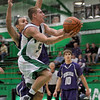 Slice and dice: West Vigo's Tyler Wampler takes advantage of his quickness and jumping ability to get by a Greencastle defender and score Saturday night.