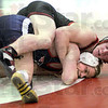 No escape: South's P.J. Montgomery controls North's Chris Hayden during match action Wednesday evening.