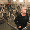 Tribune-Star/Joseph C. Garza<br /> Renovation in the future: Terre Haute Family Y member Patricia Bringman uses one of the treadmills in the gym area of the Y Wednesday. Y leadership announced Wednesday a plan to renovate the facility.