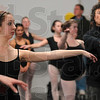 Tribune-Star/Joseph C. Garza<br /> In step: Academy of Dance student Elizabeth Lamontagne performs a dance move ass taught by former Bolshoi Ballet member Sergei Radchenko Tuesday at the academy.