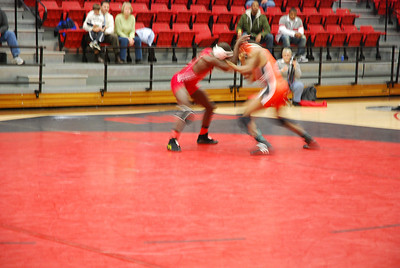 GWU wrestling match against Campbell University.