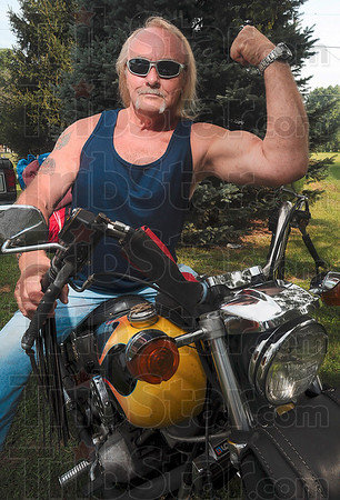 Tribune-Star/Joseph C. Garza<br /> Look familiar?: Steve Caldwell's video entry for the ÒUltimate Summer Beach PartyÓ contest included a Hulk Hogan impersonation.