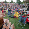 Big Crowd: The bowl of the Fairbanks Park ampitheater was full and overflowing for the WTHI99 Summer Bash concert Thursday evening. Performers were Sarah Darling, Brady Seals and headliner Josh Gracin.