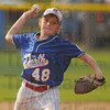 Starter: Trevor Perkins started on the mound for the North All-Stars.