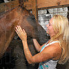 Works well with animals: Eliza Farmer and her horse Copper, friends for 9 years, now compete on the state level as well as in 4-H.