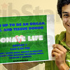 Donate Life: Joseph Botros pushes the Donate Life project.