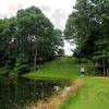 Hidden: Kalorama Gardens on the land of Steve and Linda Gard includes a small pond and walking paths.