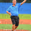 First pitch: Tommy John threw out the first pitch at the Rex-DuPage game Wednesday evening.