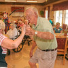 "Tribune-Star/Joseph C. Garza<br /> Providing a ""fair"" amount of entertainment: Donna and Dick Bredeweg show off their dancing skills for the residents at Springhill Village Tuesday. The couple were on hand to provide entertainment as part of Fair Week at Springhill Village."