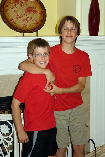Jacob and Anthony, Anthony's 11th birthday
