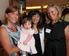 "(Denver, Colorado, July 27, 2010)<br /> Alison Winfield and her daughter, Kate, Michelle Sie Whitten, and Dana Vollbracht (sister of Alison).  The ""Be Beautiful Be Yourself Jet Set Fashion Show 2010 Saks Fifth Avenue Kickoff Party,"" benefiting the Linda Crnic Institute for Down Syndrome, supported by the Global Down Syndrome Foundation, at Saks Fifth Avenue Cherry Creek in Denver, Colorado, on Tuesday, July 27, 2010.<br /> STEVE PETERSON"