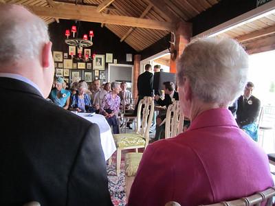 The de Blair wedding