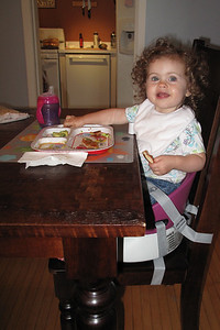 no more high chair for me!