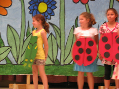 """June 17-20 - June 17-24, 2010 (Hailey participates in a school play """"Bees Dance, but Spiders Don't Fly."""" She goes to Grace's swim party."""