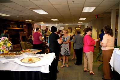 Ann Wesson's retirement reception at Gardner-Webb University; June 22, 2010.