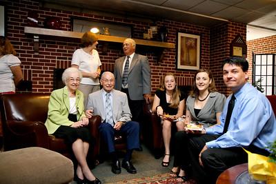 Ann Wesson's retirement reception at Gardner-Webb University; June 22, 2010.