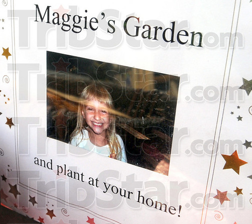 Maggie's Garden: Detail photo of Maggie Vicory's photograph on display during Thursday's dedication ceremony.
