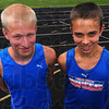 Competing: Both John Mascari and Tyeson Mundy will compete in the State Track finals this Saturday.