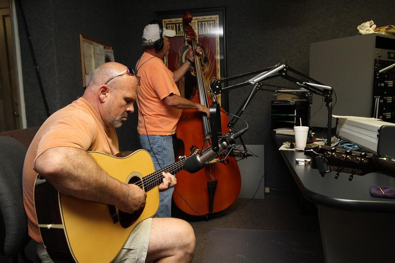 Michael Reno Harrell visits WGWG, June 2010.