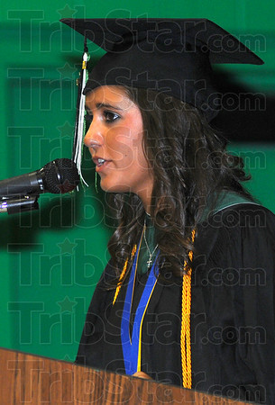 Valedictorian: Kelsey Lindsay is the Valedictorian for the Westy Vigo class of 2010.