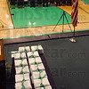 Graduation Day: Diplomas rest on a table on the dias waiting for names to be called at the West Vigo Commemcemnet exercises Sunday evening.