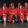 Bakers' dozen: There were thirteen graduates in this years' senior class at Booker T. Washington High School.