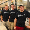 Tribune-Star/Joseph C. Garza<br /> Putting the new back in news: The Newsstand owners, Ryne Ring, Jared Drake and Derrik Enstrom are now running the Sullivan courthouse square restaurant.