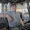 Loyalty: Chris Mulvihill has been working at the Terre Haute Coca Cola distribution center for thirty-six years and has seen many changes in the operation over that time.