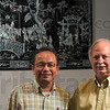 Tribune-Star/Joseph C. Garza<br /> Returning together: Dr. Alexander Ton and Dr. Randy Stevens are returning to Vietnam together decades after Ton fled the country as a refugee and Stevens served as a U.S. Army medic during the Vietnam War in the early 1970s.
